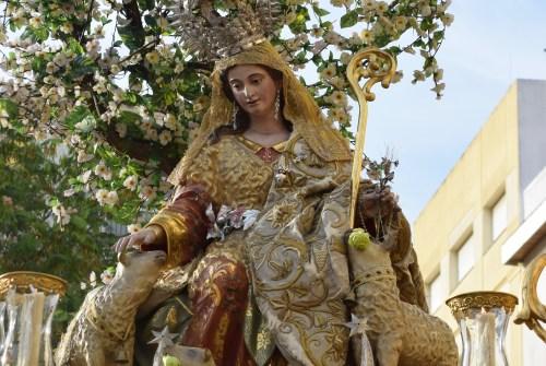 Tarde cofradiera junto a la Divina Pastora de Capuchinos