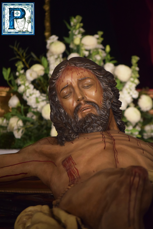 El Besapies del Cristo de la Buena Muerte desde el objetivo de Lucas Álvarez