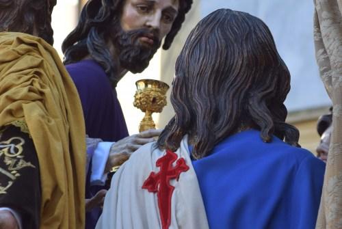 A PIE DE PASO: «La salida del Señor de la Sagrada Cena»