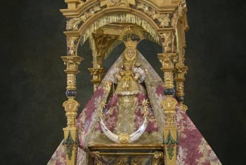 SANLÚCAR.- La Virgen de la Caridad recorre las parroquias sanluqueñas con motivo del cuarto centenario de su patronazgo