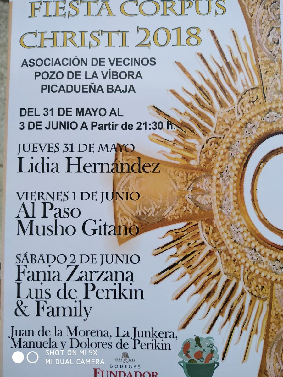 Fiesta del Corpus Christi en Picadueñas