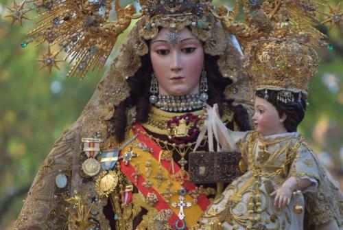 Novena en honor a Nuestra Señora del Carmen Coronada