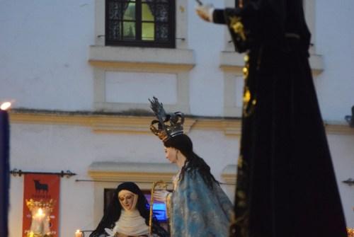 La procesión por el 500 Aniversario de  las Concepcionistas Franciscanas desde el objetivo de Lucas Álvarez