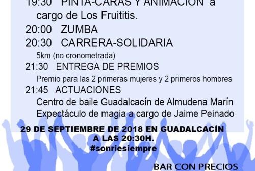 III Carrera Solidaria organizada por la Hermandad de la Entrega