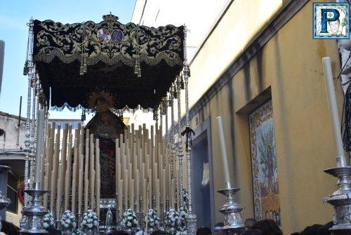 EN VIDEO: Traslado de la Virgen de la Piedad a la Merced