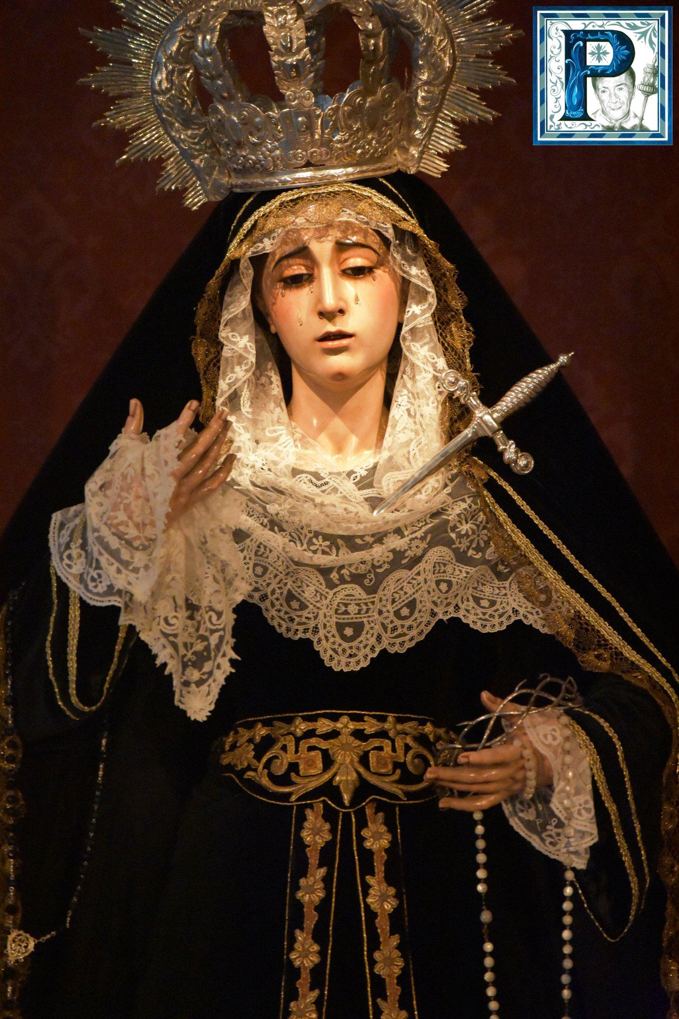 La Virgen de las Lágrimas estará en Solemne Besamanos en la festividad de la Inmaculada Concepción