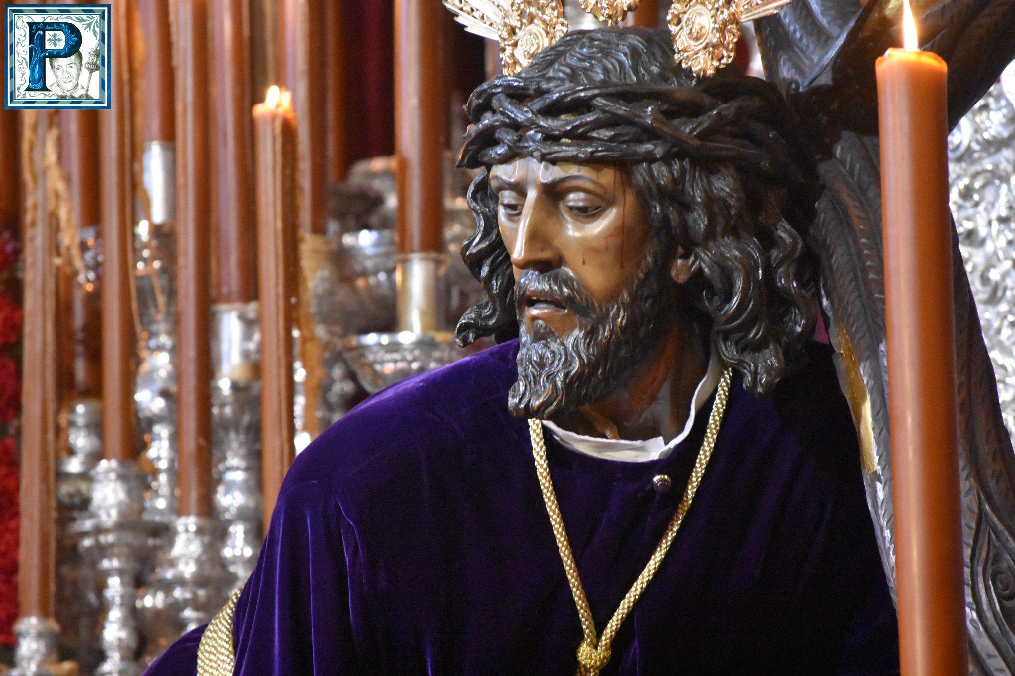 Las Tres Caídas se traslada hoy al Convento Santa María de Gracia