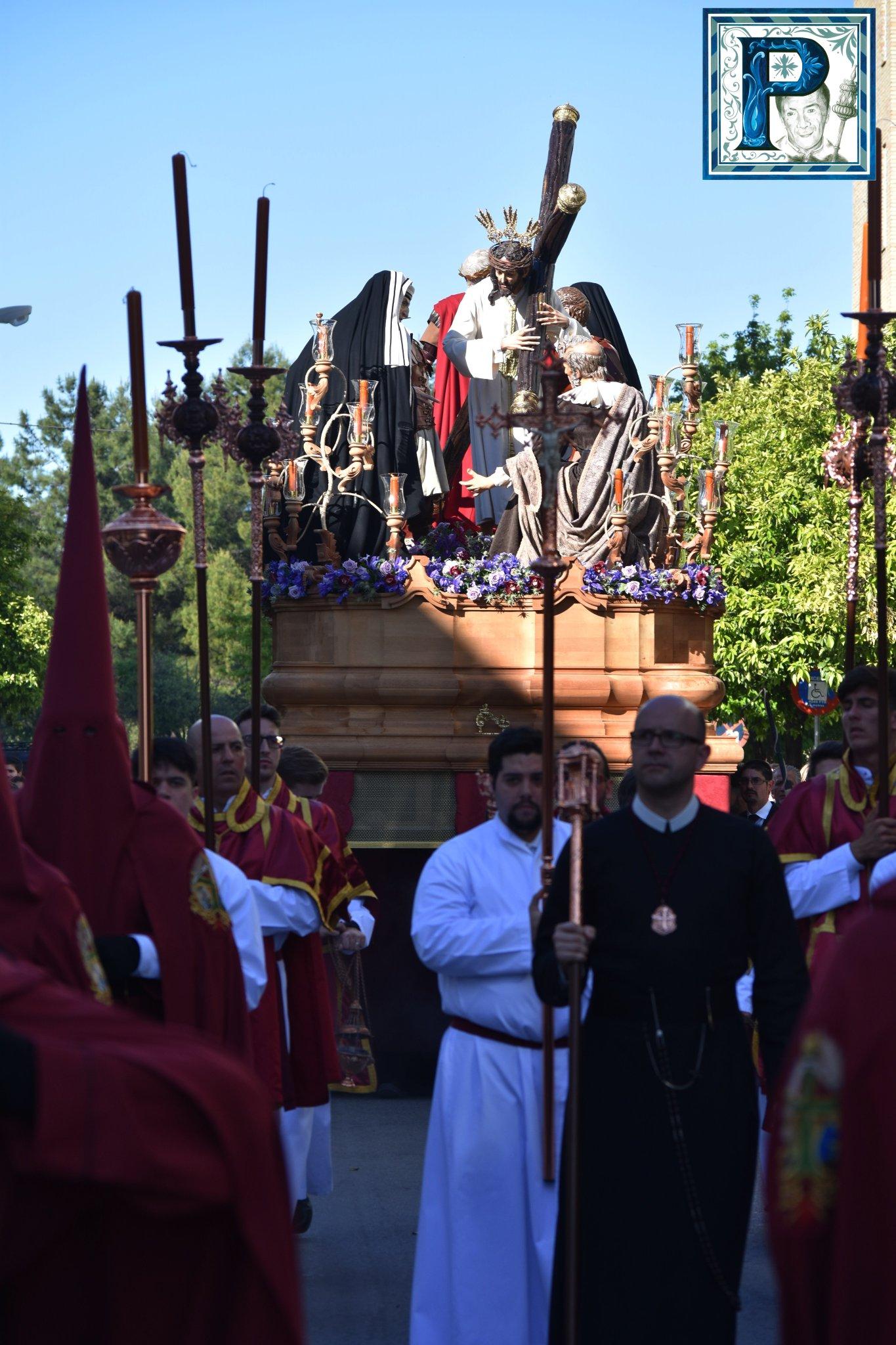 A PIE DE PASO: «El Señor de la Salvación en calle Porvera»