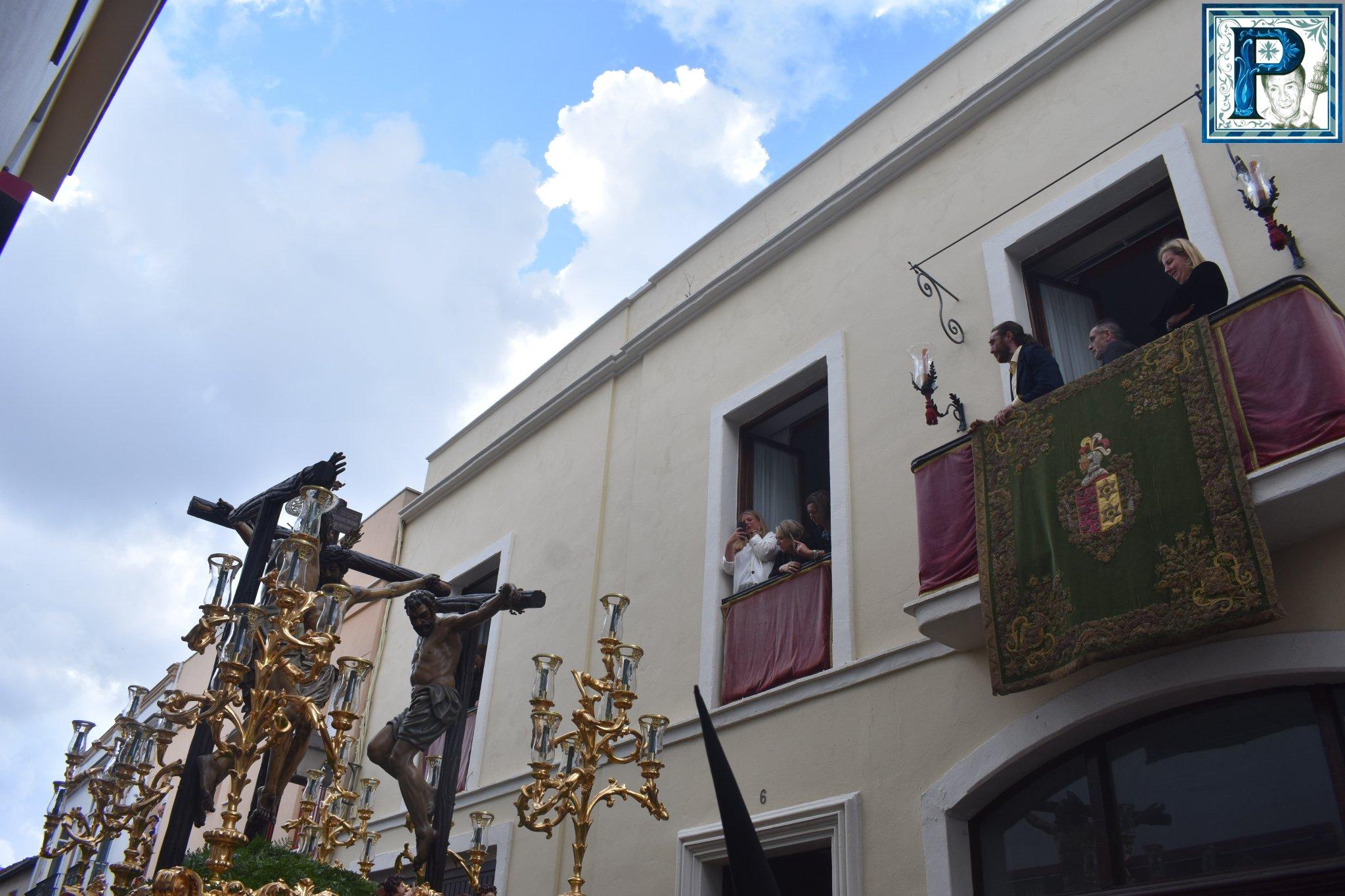 A PIE DE PASO: «El Cristo de la Esperanza en la calle Chancillería»