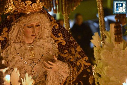 La Virgen de la Concepción Coronada será trasladada a la Santa Iglesia Catedral en el paso de la Virgen de la Hiniesta Gloriosa