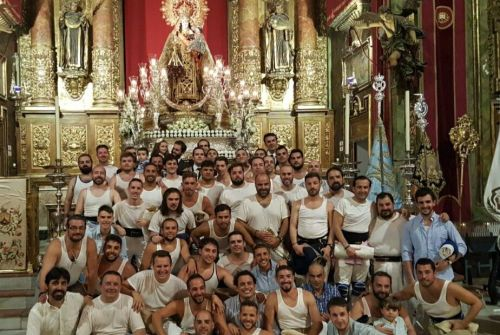 «Yo fui costalero de la Virgen del Carmen» por José Ángel Ferrer