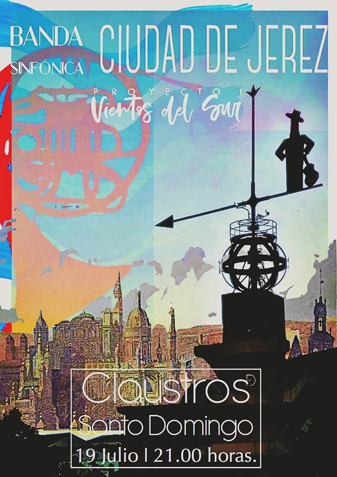La Banda Sinfónica «Ciudad de Jerez» se estrena con un primer concierto en los Claustros de Santo Domingo