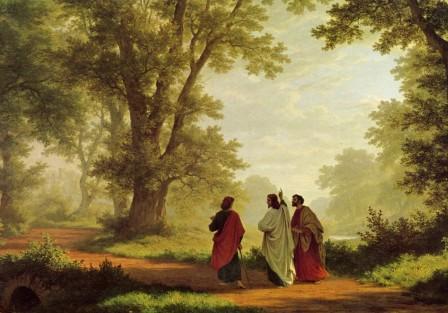 «Quédate con nosotros Señor» por Ángel Heredia Barea