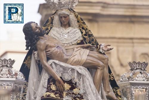 Cultos a la Virgen de las Angustias en el Humilladero