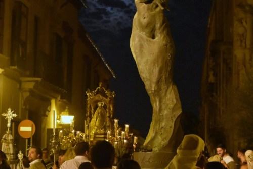 EN VIDEO: «Salida procesional de la Virgen del Rosario de la Yedra»