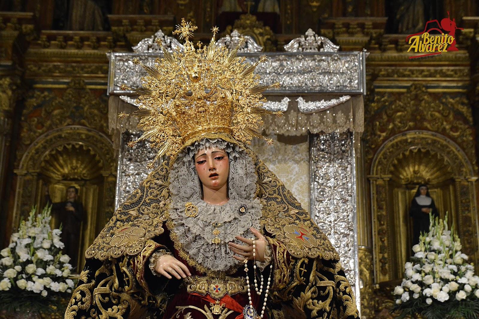 Los besamanos con motivo de la festividad de la Expectación en Sevilla de la mano de Benito Álvarez