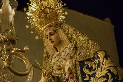 El Traslado de la Virgen de la Concepción a la Catedral desde el objetivo de Miguel Ángel Gómez