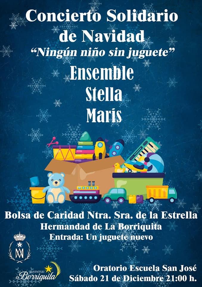 Concierto Solidario de Navidad en la Hermandad de la Borriquita