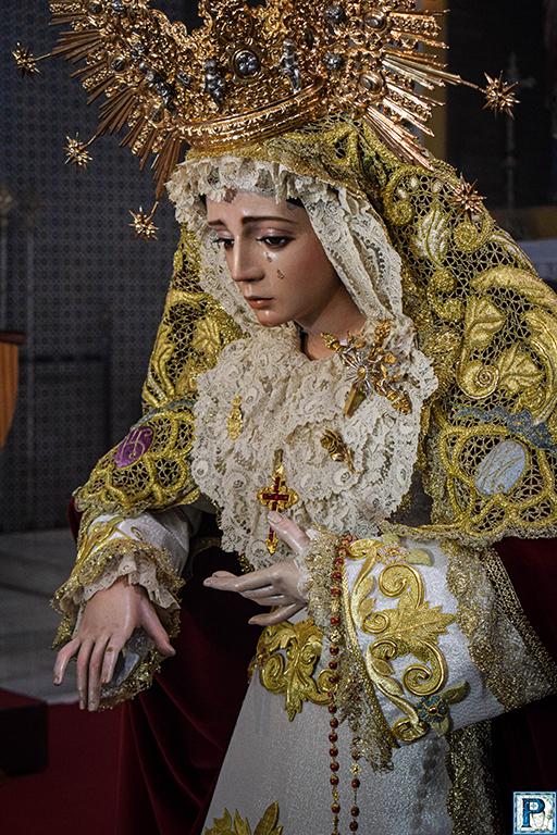 El Besamanos de la Candelaria desde el objetivo de Miguel Ángel Gómez