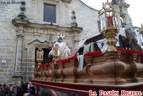 A PIE DE PASO: «El Señor de Bondad y Misericordia en el Asilo de San José»