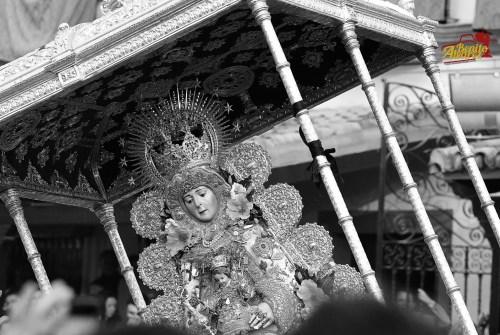 La Virgen del Rocío seguirá en Almonte hasta el próximo año