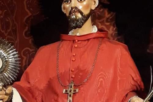 Cultos en honor a San Ramón Nonato en la Merced