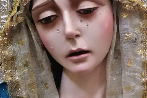 Torrecera recibe a la Virgen de la Soledad