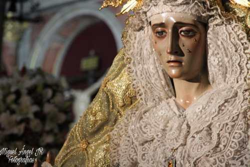 Galería: Veneración a la Virgen de la Esperanza de la Yedra