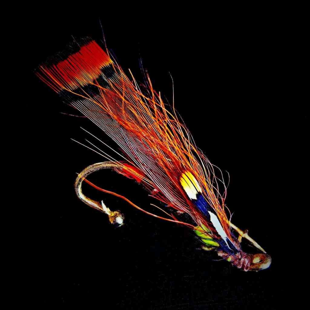 Mosca para salmón para pesca con mosca