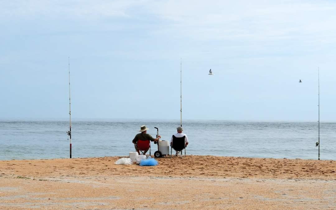 El placer de la pesca Surfcasting