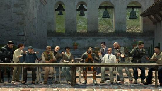 Half Life Last Supper
