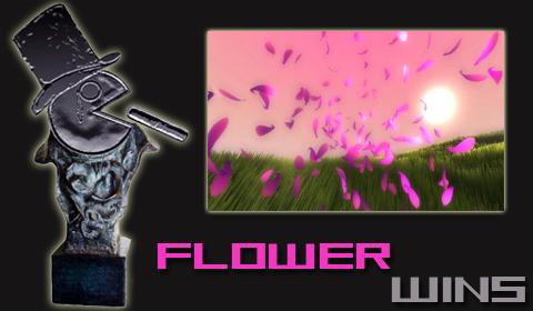 flower wins