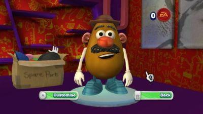 Mr Potato game