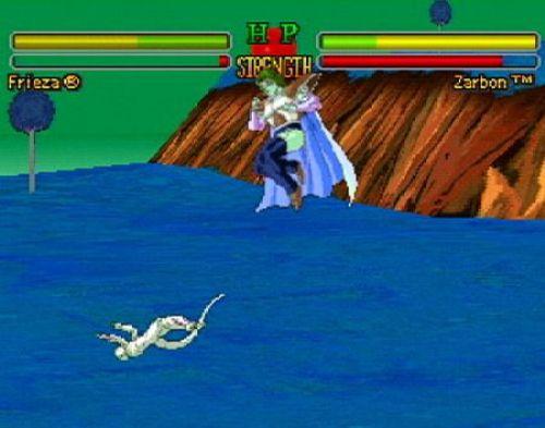 Dragon Ball Z-Ultimate Battle 22 pantalla
