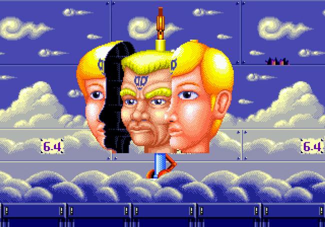 Retro Amor: Dynamite Headdy fly