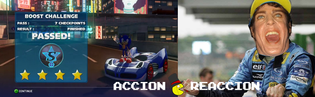 Sonic & SEGA Racing Transformed