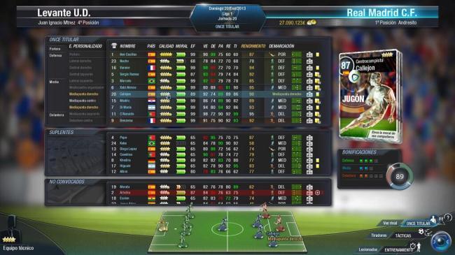 FX Fútbol jugador