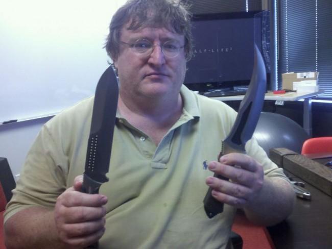 gabe newell cuchillos