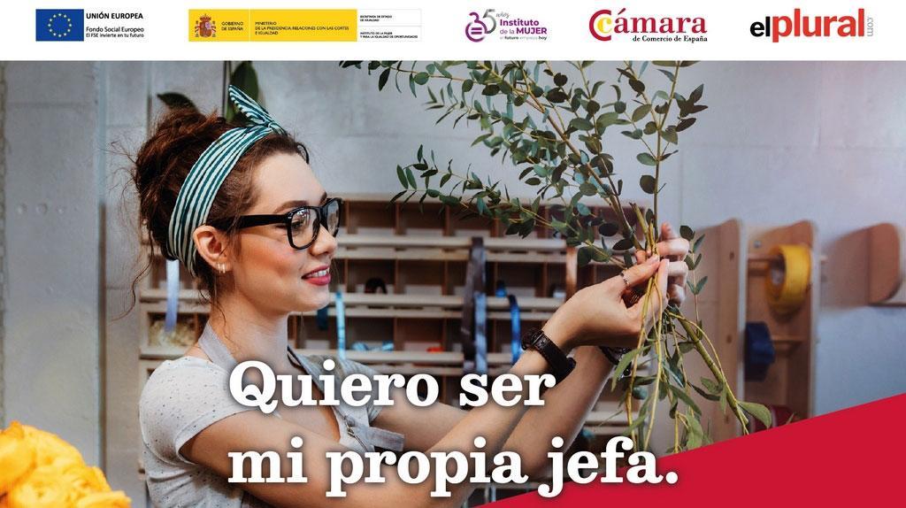 ElPlural y la Cámara de Comercio de España celebran una jornada sobre emprendimiento femenino el próximo 28 de noviembre en Madrid