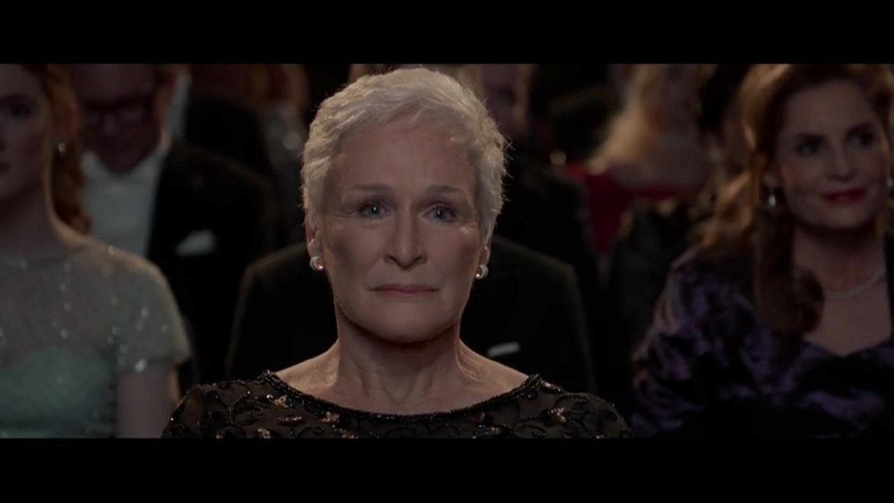 """La actriz, Glenn Close en """"La buena esposa"""""""