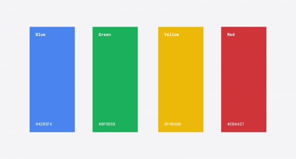 google colores