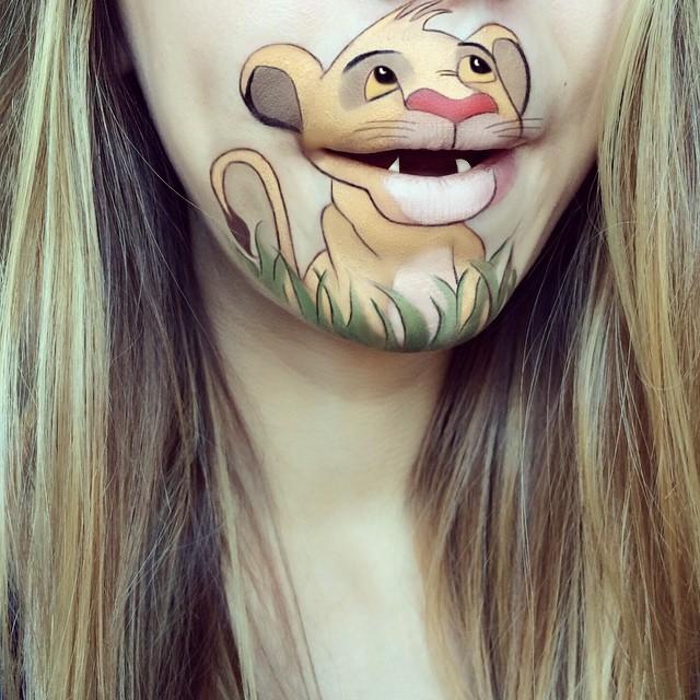 Cartoon-Lip-Art-By-Makeup-Artist-Laura-Jenkinson_1