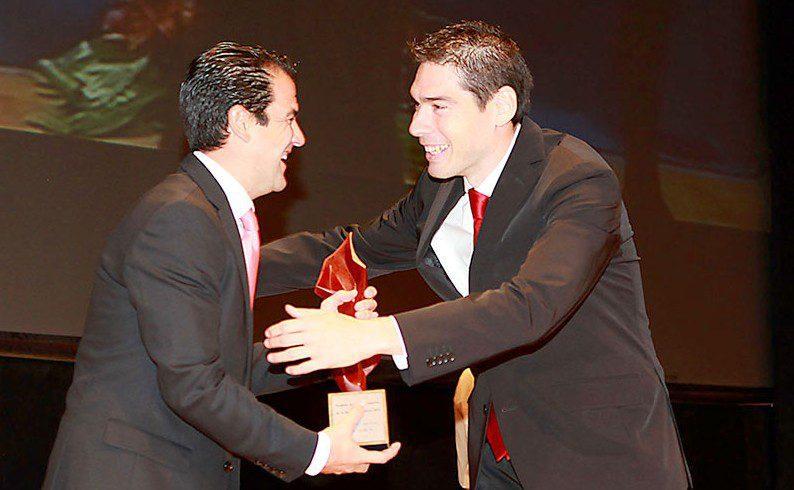 Kike Boned, 'Premio Especial 2013'  en la Gala del Deporte de la Región de Murcia