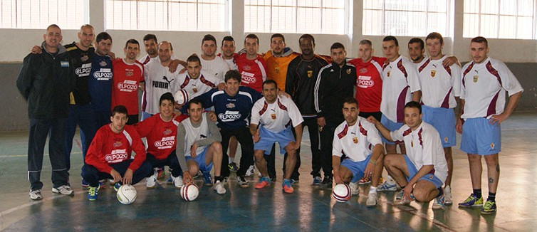 Jornada deportiva en el centro penitenciario de Sangonera