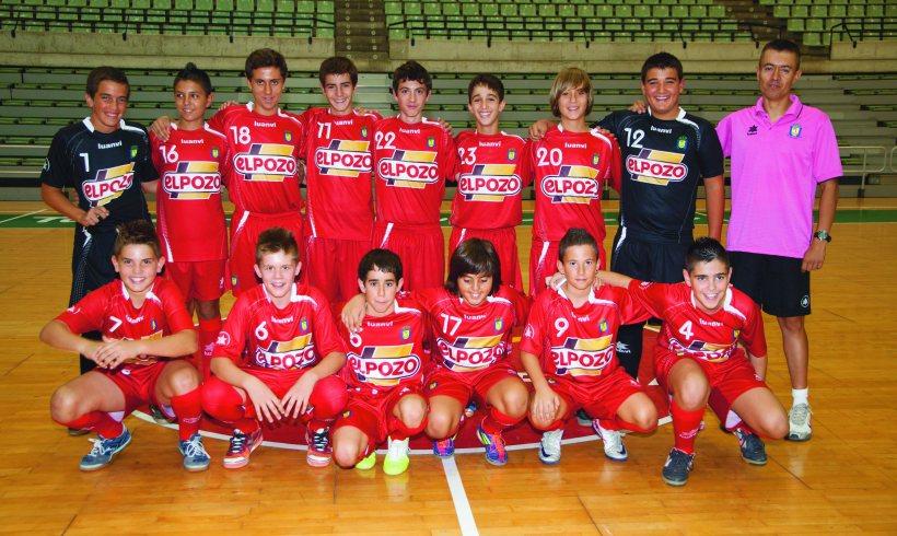 El equipo Infantil ElPozo disputará el Campeonato de España al clasificarse de forma brillante en la fase previa