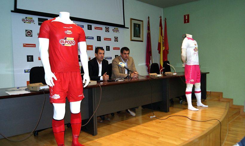 ElPozo Murcia FS seguirá fiel al color rojo y la 'Marea Roja', equipaciones 2012-13