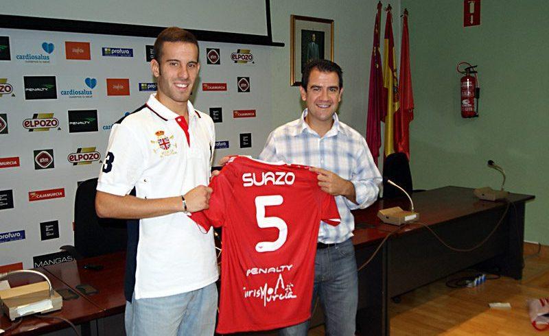 Suazo, el 'yogurin' de ElPozo Murcia FS