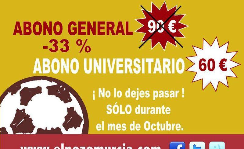 ElPozo Murcia FS lanza el abono universitario