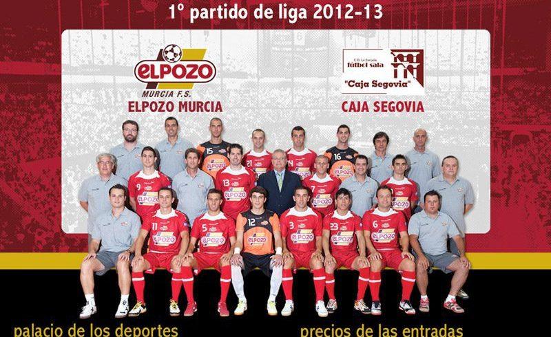 Primer partido de liga 2012-2013