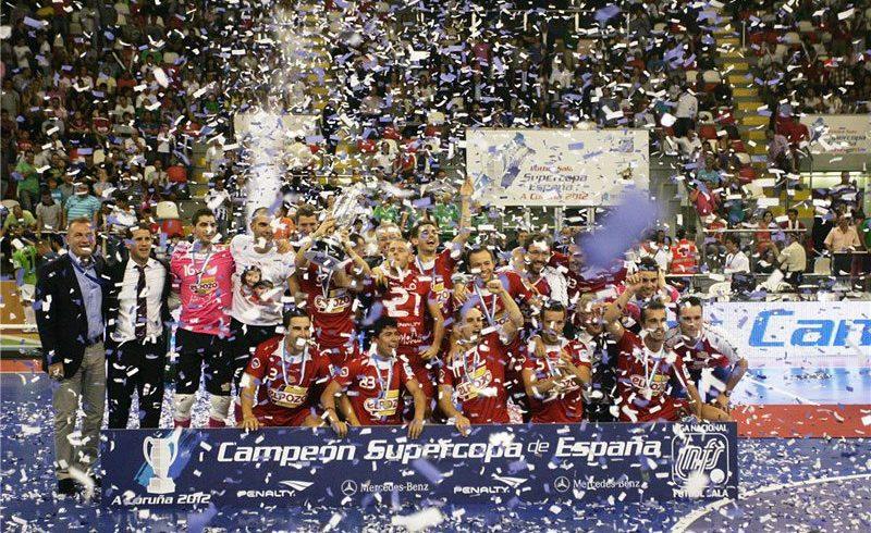 El trofeo de la Supercopa de España estará expuesto mañana antes del partido para los aficionados